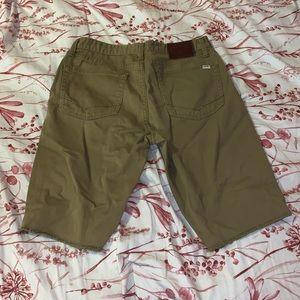 Vans Shorts - Khaki brown shorts from vans